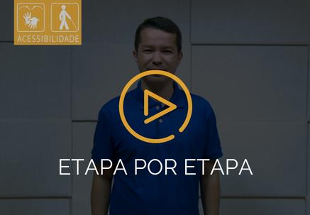 Etapa por etapa — Pão Diário em Libras (27.10.18)