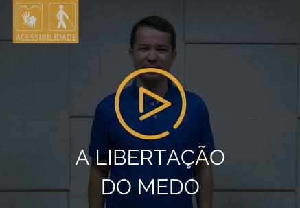 A libertação do medo — Pão Diário em Libras (27.02.2020)
