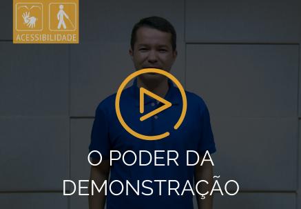 """""""O poder da demonstração"""" - Pão Diário em Libras (24.03.2020)"""