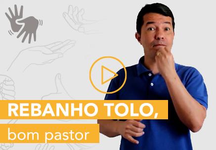 Rebanho tolo, bom pastor — Pão Diário em Libras