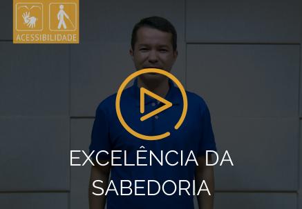 Excelência da sabedoria — Pão Diário em Libras (27.04.2020)