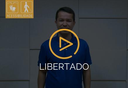 Libertado — Pão Diário em Libras (26.06.2020)