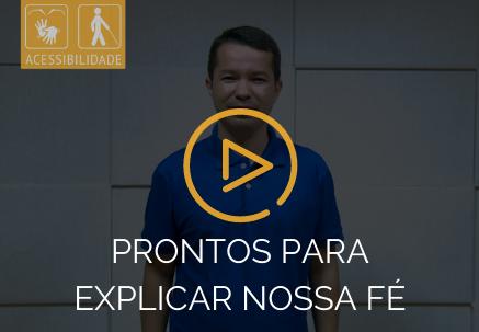 Prontos para explicar nossa fé — Pão Diário em Libras (02.07.2020)